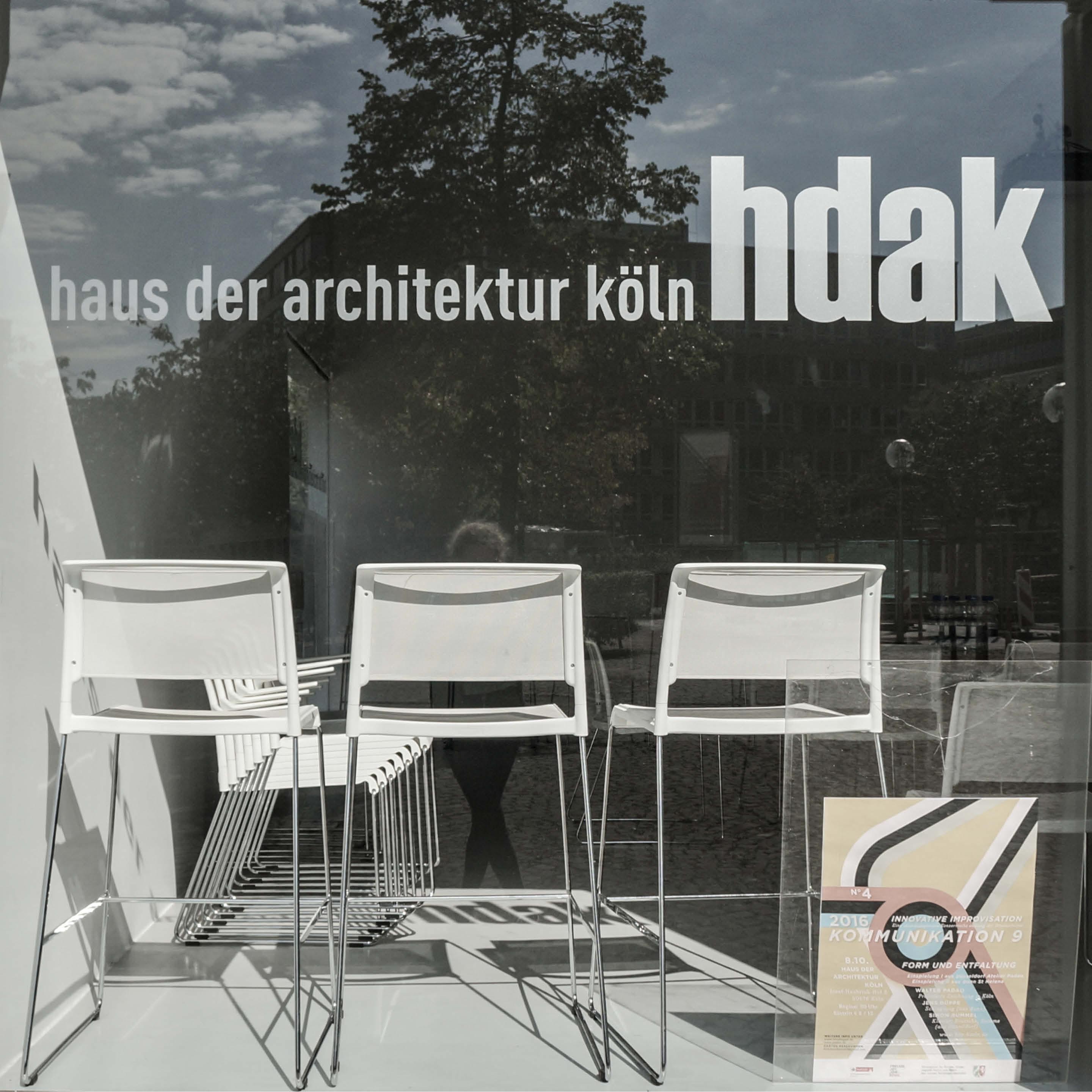 haus der architektur k ln. Black Bedroom Furniture Sets. Home Design Ideas